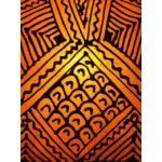 Emira marrokkói álló lámpa narancs