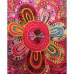 Mirza keleti textil puff, jóga párna II.