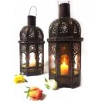Aysenur marokkói mennyezeti lámpa narancs