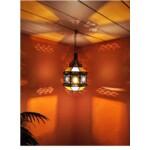 Azima marokkói mennyezeti lámpa