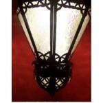 Ksar marokkói mennyezeti lámpa
