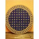 Marrakeshi mozaik asztal sárga/kék