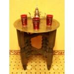 Mehdia marokkói teázó asztal II. antik