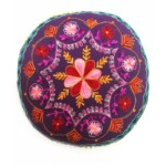 Mirza keleti textil puff, jóga párna I.