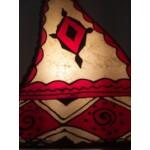 Riham marrokkói álló lámpa multi