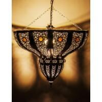 Cal marokkói mennyezeti lámpa ezüst