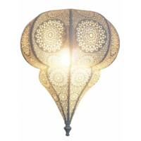 Malha marokkói fehér fali lámpa
