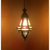 Anya marokkói mennyezeti lámpa színes