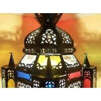 Falak marokkói mennyezeti lámpa