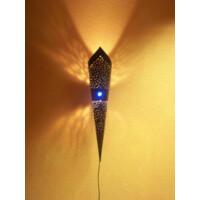 Marina marokkói fali lámpa kék