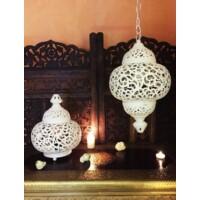 Nahla asztali fehér lámpa
