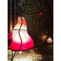 Saba marokkói henna lampa színes 50 cm