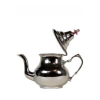 Egyszerű marokkói teakiöntő ezüst 500 ml