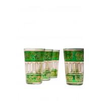 Lamia marokkói tea pohár zöld