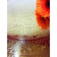 Afaf arany marokkói tálca 30 cm