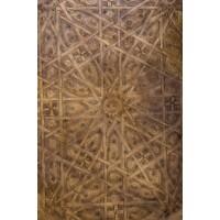 Mehdia antik marokkói tálca 80 cm