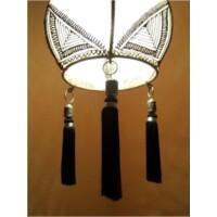 Anut marokkói mennyezeti lámpa natúr