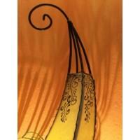 Daya marokkói henna álló lámpa natúr 70 cm
