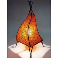 Emira marokkói henna álló lámpa narancs 43 cm