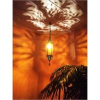 Marokkói lámpa sárga