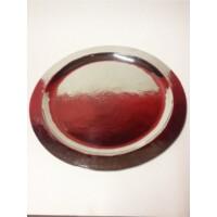 Mouna keleti teázó asztal ezüst színben