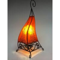 Rahaf marokkói álló henna lámpa narancs 50cm