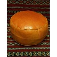 Shalla marokkói bőr puff, ülőpárna