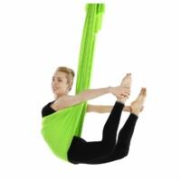 Antigravitációs jóga függőágy zöld színű 4 méteres