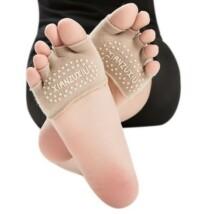 Drapp feles jóga zokni