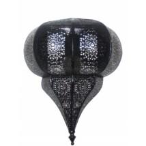 Malha marokkói fekete fali lámpa