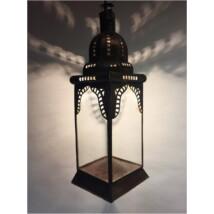 Basak marokkói mennyezeti lámpa színtelen