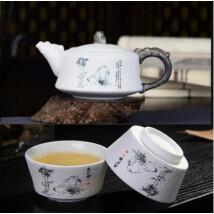 Kinai porcelán teás készlet