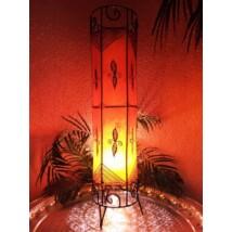 Neslihan marokkói álló lámpa narancs 80 cm