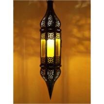 Rihana marokkói lámpa narancs