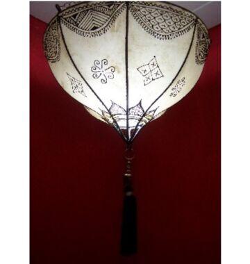 Anadil marokkói mennyezeti lámpa natúr