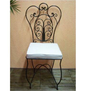 Cordoba marrakeshi szék vasból
