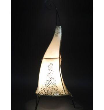 Daya marrokkói álló lámpa natúr