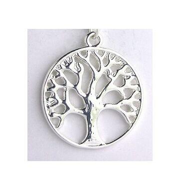 Ezüst színű életfa medál