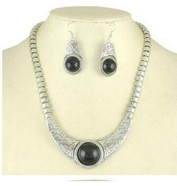 Tibeti ezüst szett
