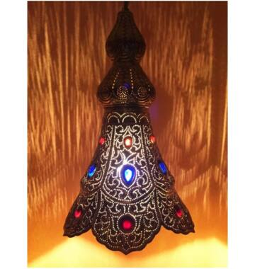 Ilgin indiai mennyezeti lámpa arany