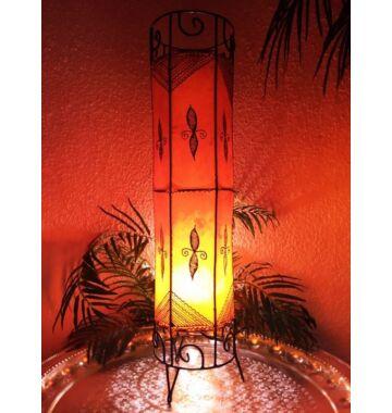Neslihan marrokkói álló lámpa narancs