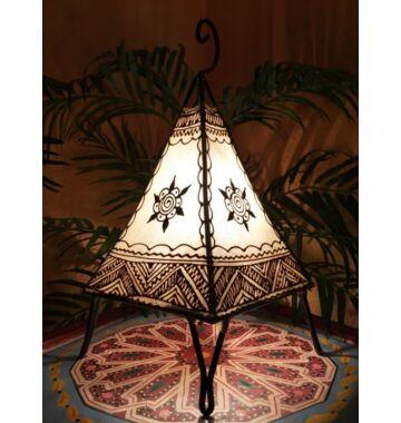 Nilay marrokkói álló lámpa natúr