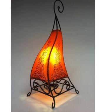 Rahaf marrokkói álló lámpa narancs 50cm