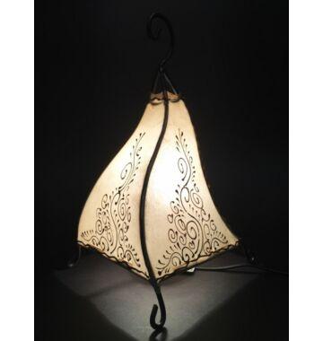 Rahaf marrokkói álló lámpa natúr