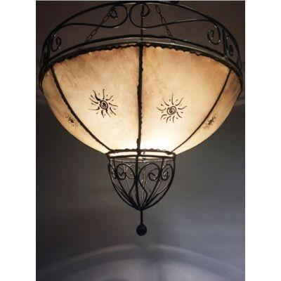 Demren marokkói henna mennyezeti lámpa natúr