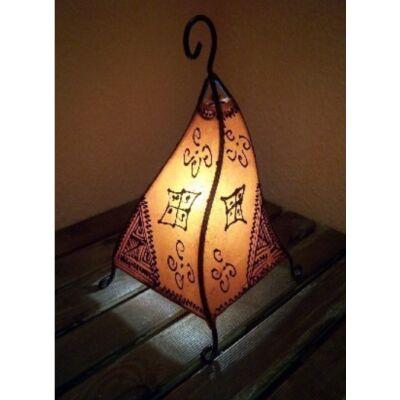 Marrakesch álló lámpa narancs