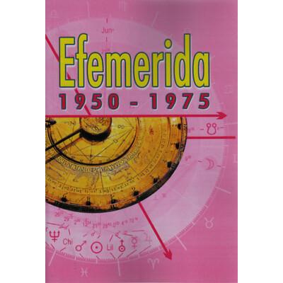 Efemerida 1950-1975