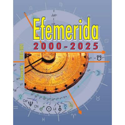 Efemerida 2000-2025
