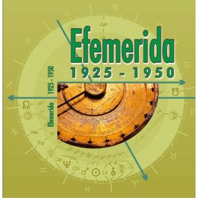 Efemerida 1925-1950
