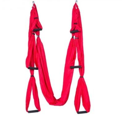 Antigravitációs jóga függőágy piros színű